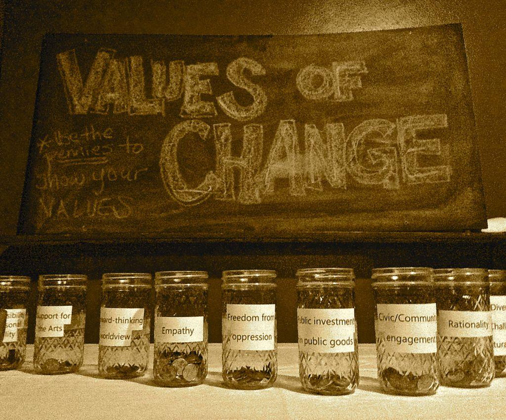 values of change